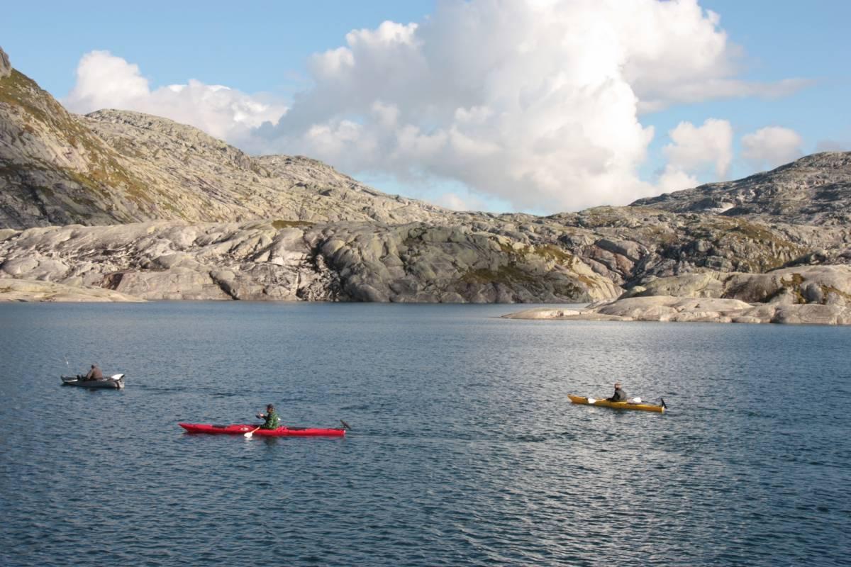 B-Nature A/S KAYAK LAKE FISHING