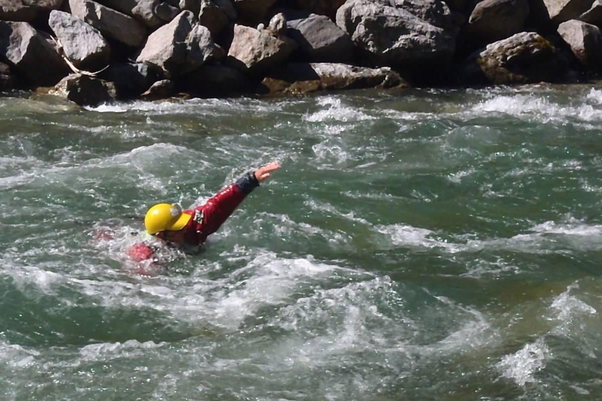 Die Canyonauten Wildwasserschwimmen
