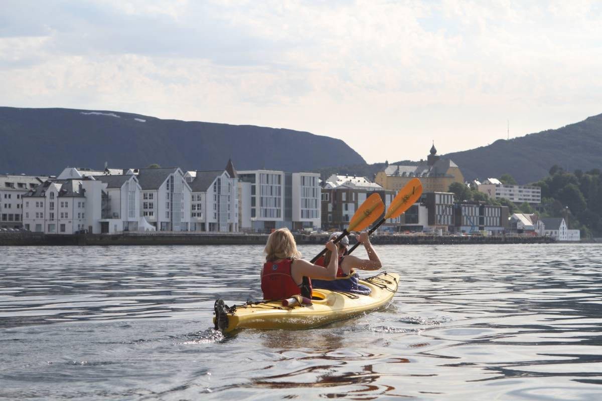 Kayak More Tomorrow AS Sea Kayak Tour the Art Nouveau Archipelago