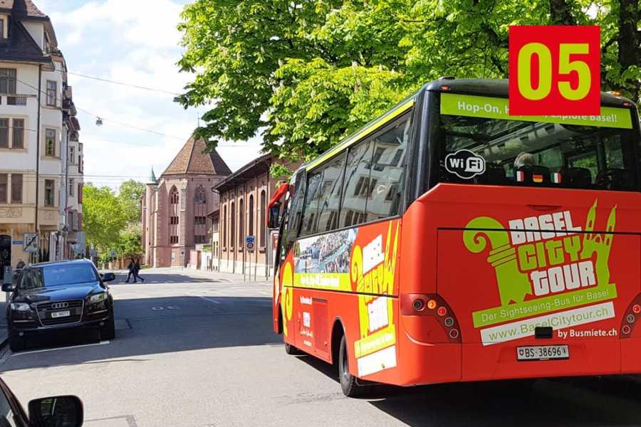 BaselCitytour.ch 05 - Kaserne / Caserne