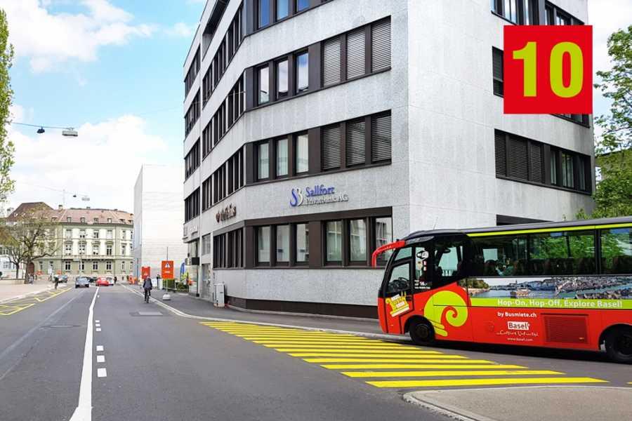 BaselCitytour.ch 10 - Musée d'art / Picassoplatz