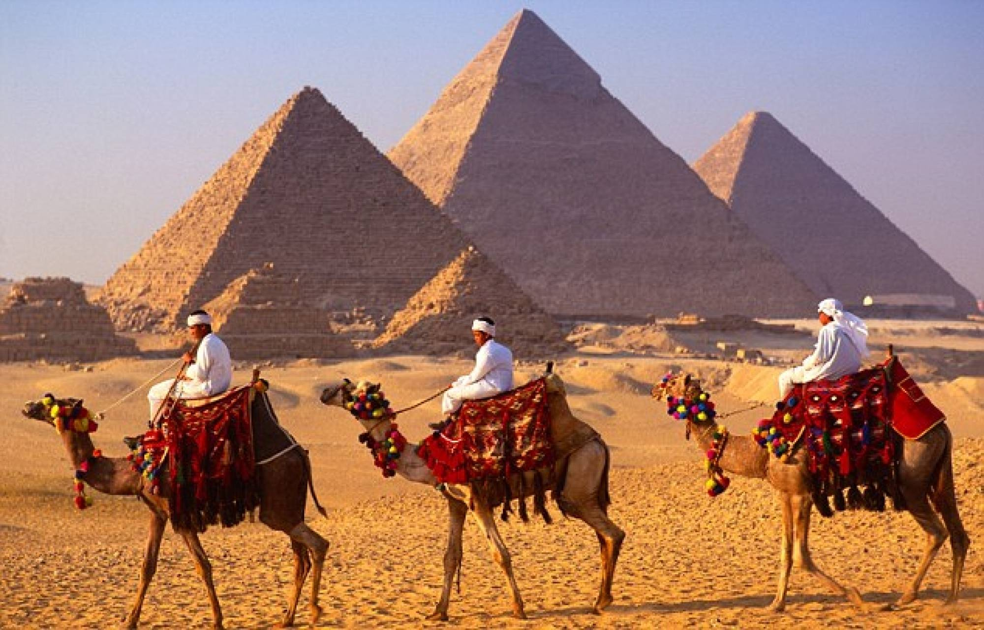 Giza Pyramids Tour with Camel Ride - Deluxe Travel Egypt