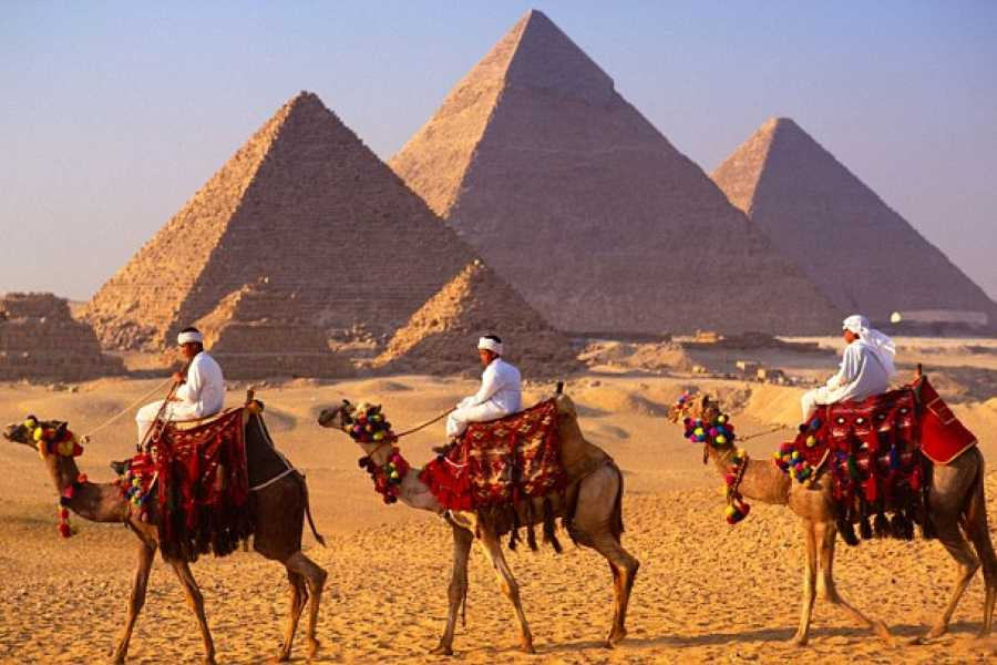 Deluxe Travel GIZA PYRAMIDS TOUR AVEC LE CAMEL RIDE