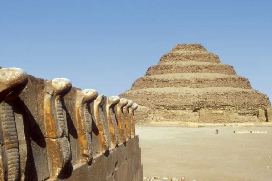 Deluxe Travel Pyramids Memphis and Sakkara Tour