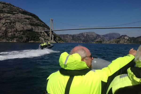 Lysefjord Safari Classic - Preikestolen view - 2 hours