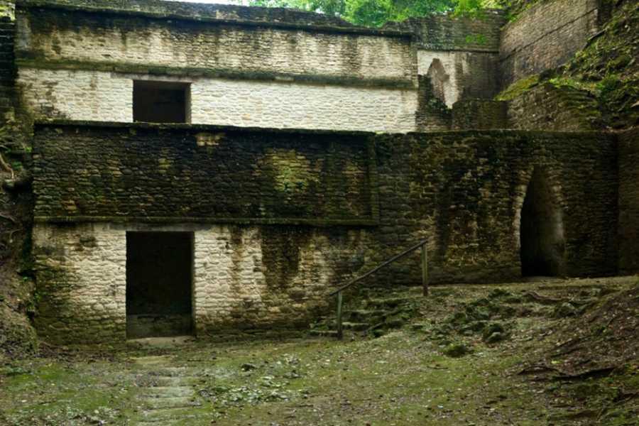 Cayo Inland Expeditions Cahal Pech Maya Temple Tour