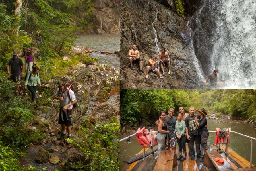 Cayo Inland Expeditions Jungle Waterfalls River Tour