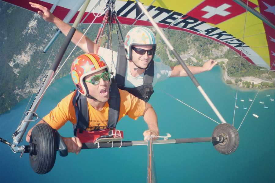 Hang Gliding Interlaken Hang Gliding Interlaken tandem flights
