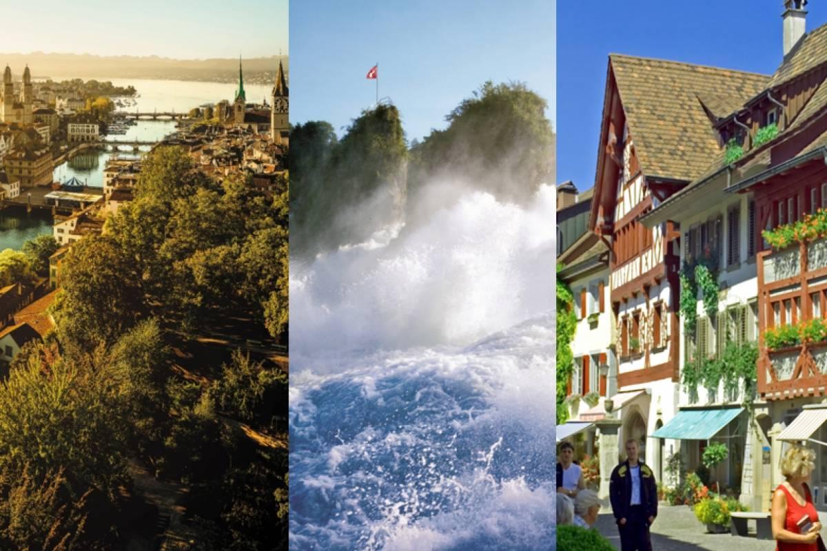 Best of Switzerland Tours Package 1: Zürich City Tour & Rhine Falls