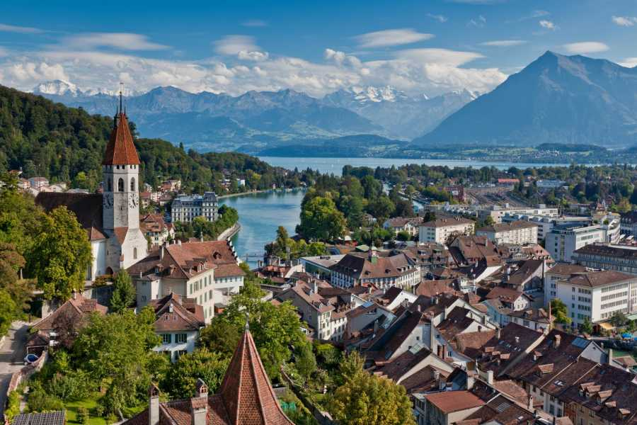 Interlaken Tourismus Romantic Thun