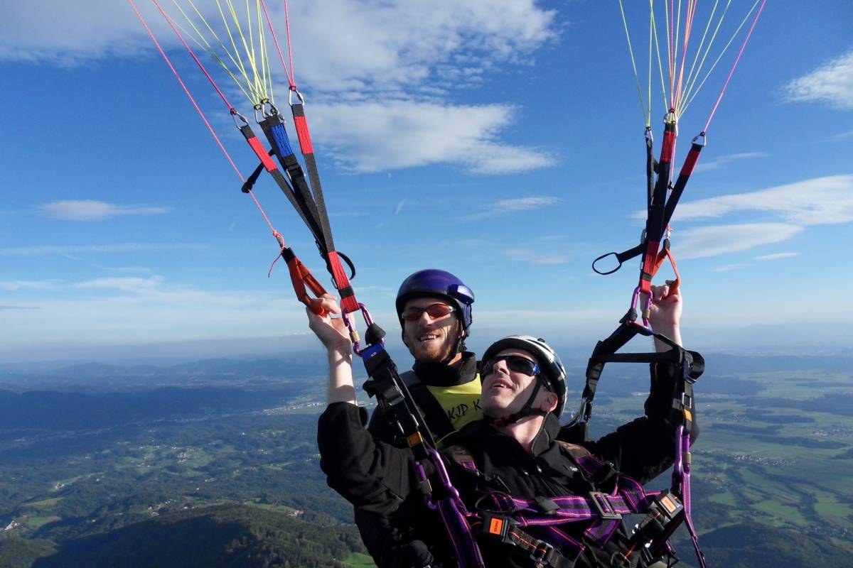 Funturist PE Bled Paragliding Bled