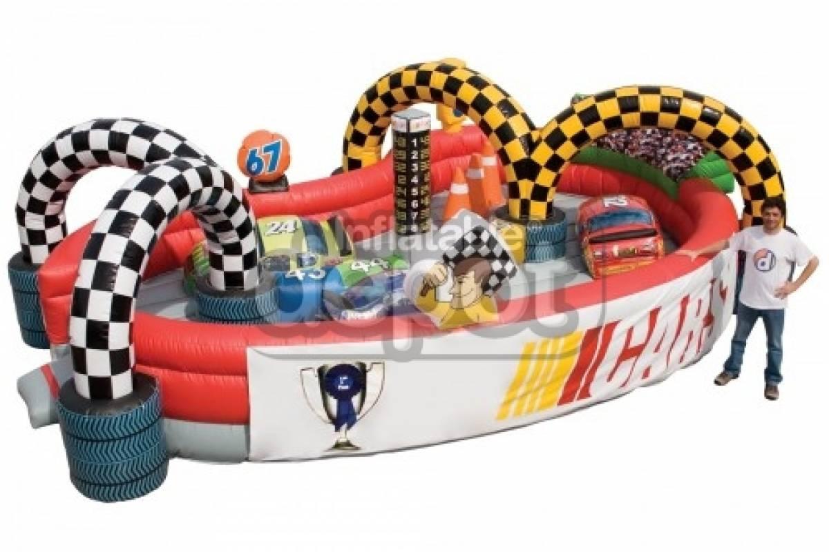Aktiv Skärgård Hoppborg Baby Racerbil