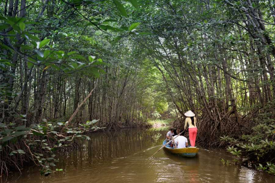 Les Rives Authentic River Experience EXCURSION DANS LA MANGROVE DE CAN GIO