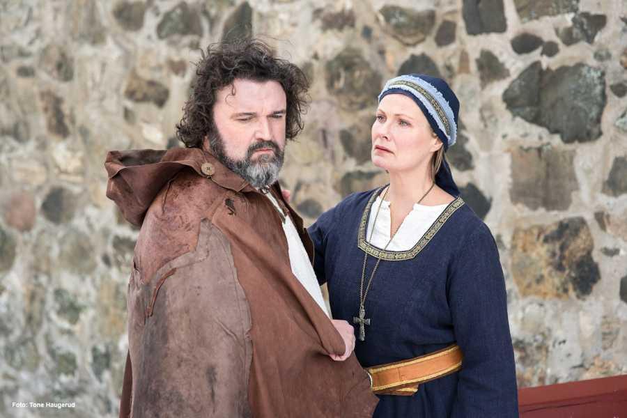 FRAM Billett til transport og forestilling Fru Guri av Edøy 2018