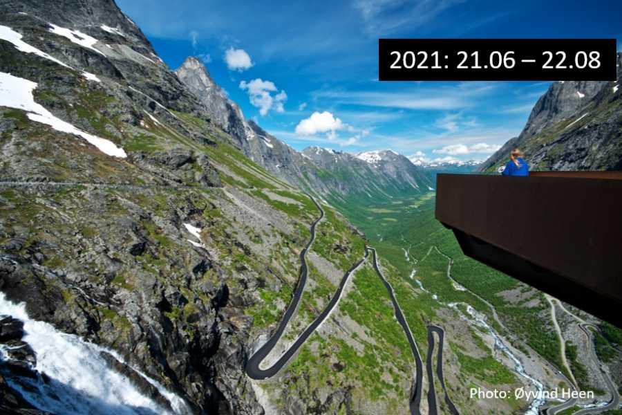 Travel like the locals (Møre og Romsdal) UNESCO Geiranger - Trollstigen - Åndalsnes (one way)