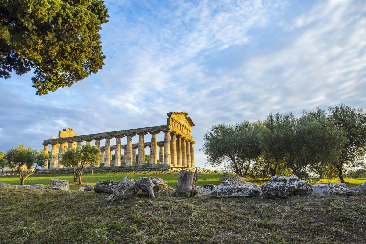 Travel etc Salerno and Paestum