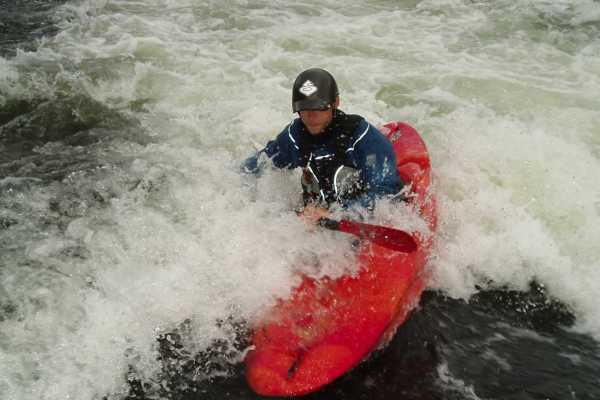 Camp Åre Whitewater Kayaking