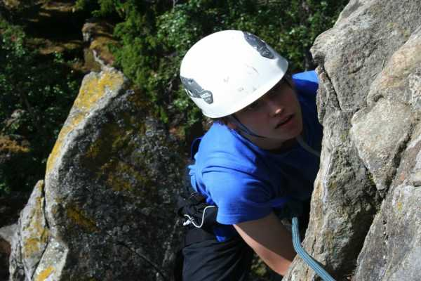 Camp Åre Rock Climbing