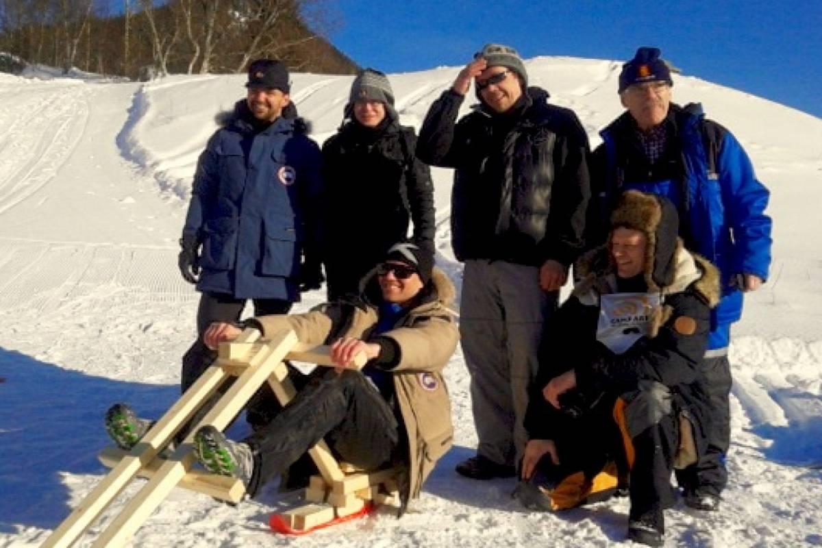 Camp Åre Build your own sled/soapbox car