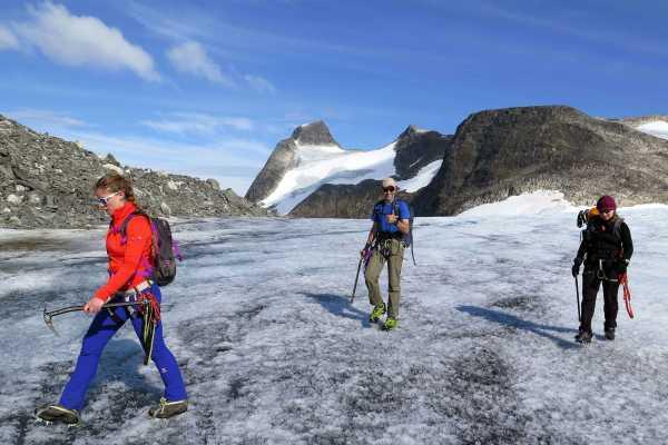 Uteguiden AS Glaciertrip to Lodalskåpa