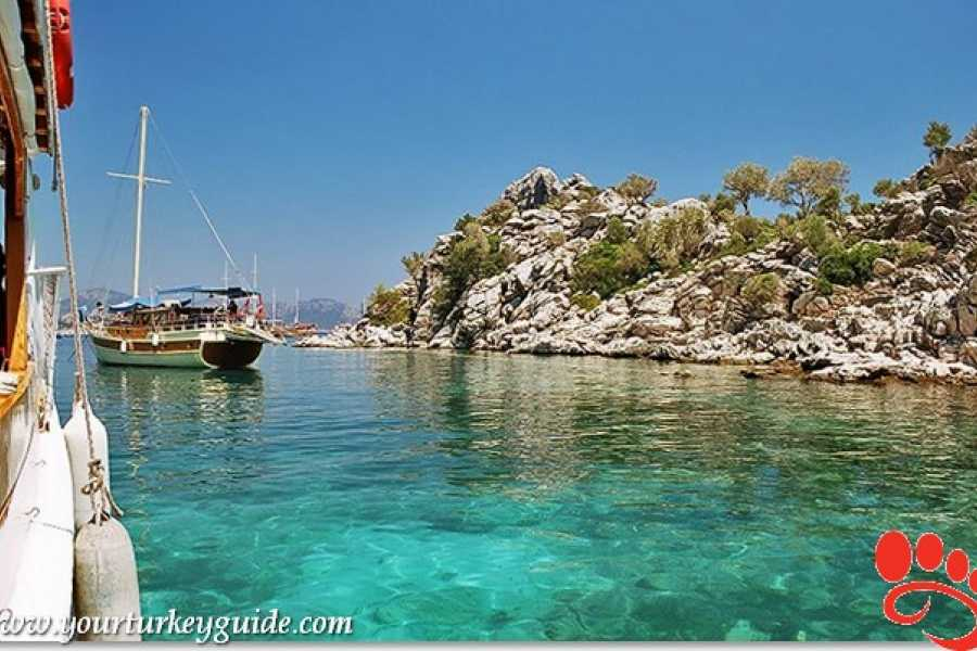 BarefootPlus Travel Mediterranean Paradise 4 Days Sailing from Marmaris to Fethiye
