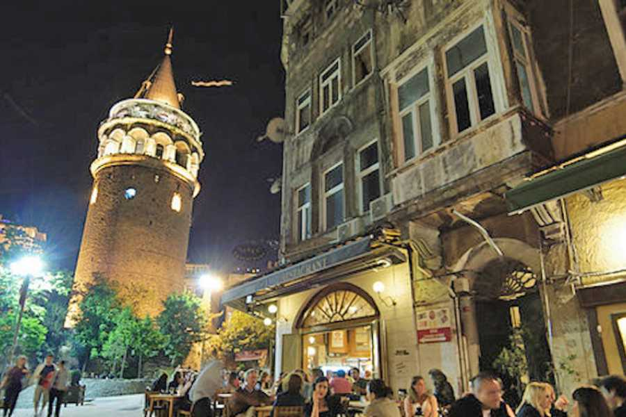 walks in europe Evening Local Food and Wine Tour In Istanbul  - Shared Option