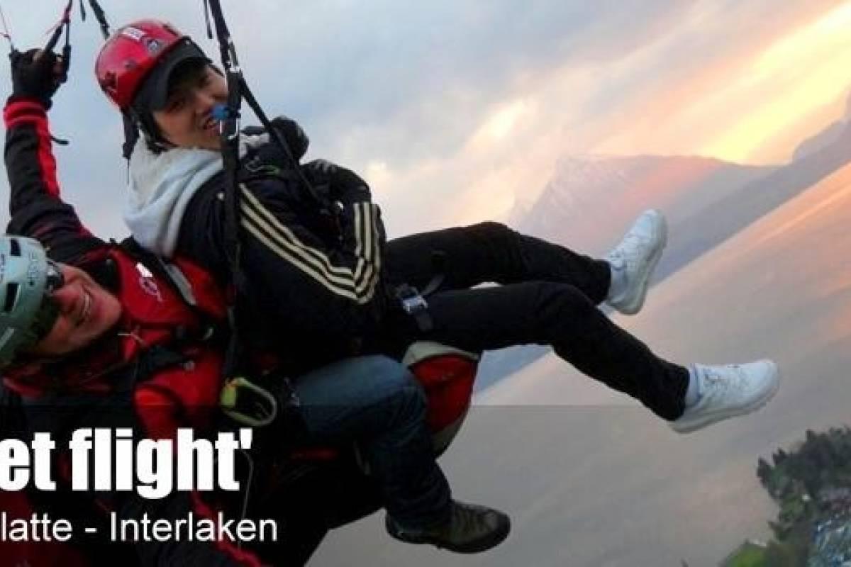 AlpinAir Paragliding Interlaken AlpinAir 'Sunset Flight'