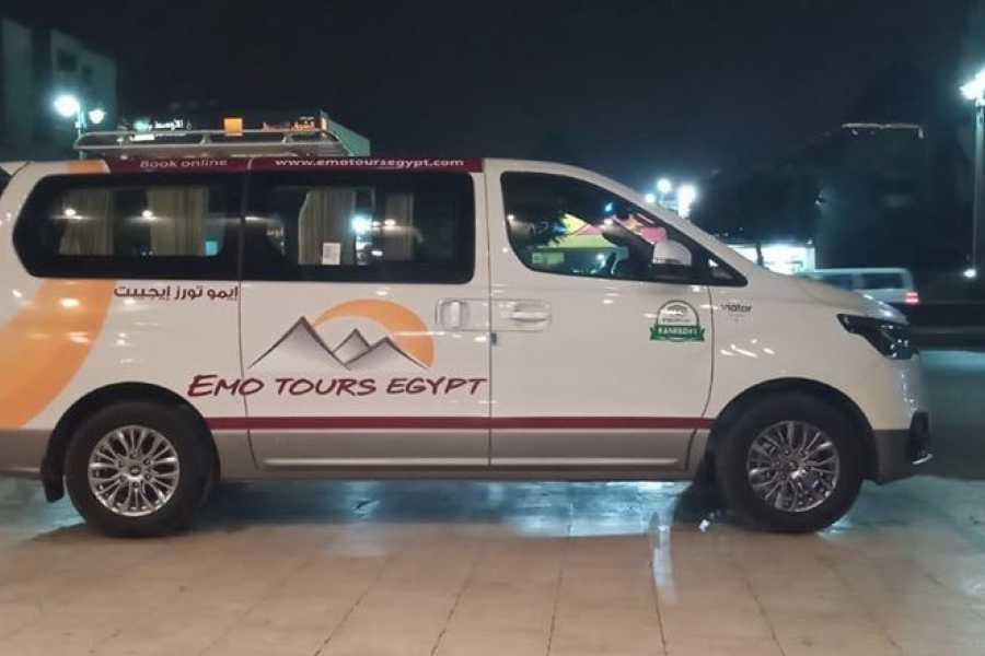 EMO TOURS EGYPT RECOLHIMENTO TRANSFERÊNCIAS E SERVIÇOS DE TÁXI DE HOTEL EM LUXOR PARA O AEROPORTO DE LUXOR