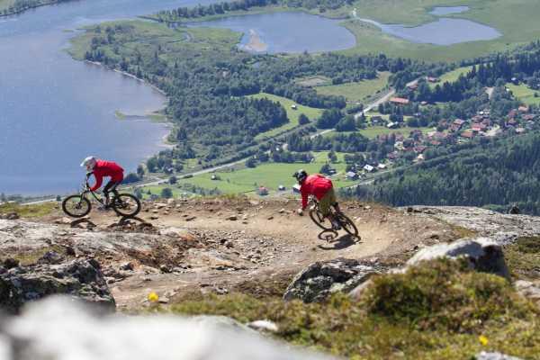 Puls Camp Åre Hyra Downhill Cykel