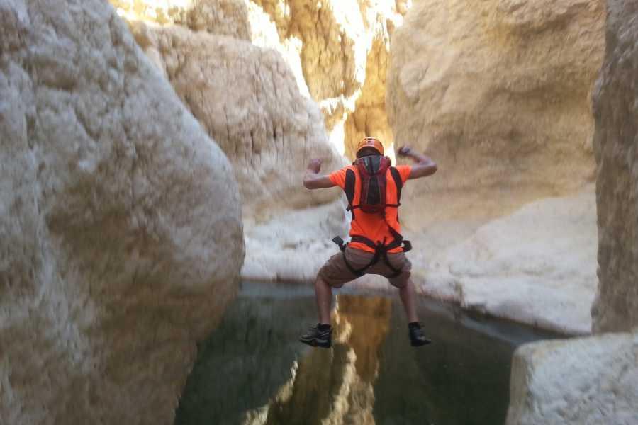 Wild-Trails Canyoning w Izraelu - Kanion Rahaf