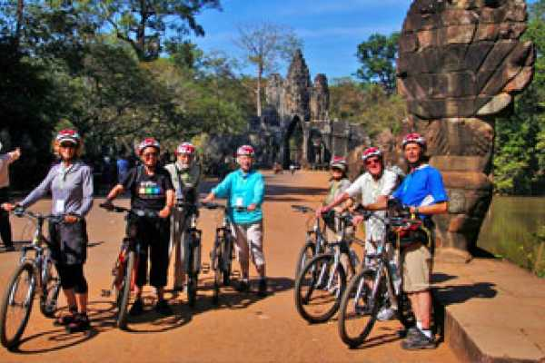 Vietnam 24h Tour Angkor Cycling Tour 5 days