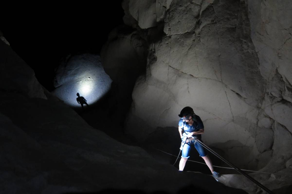 Wild-Trails Full Moon Extreme Canyoning in Israel