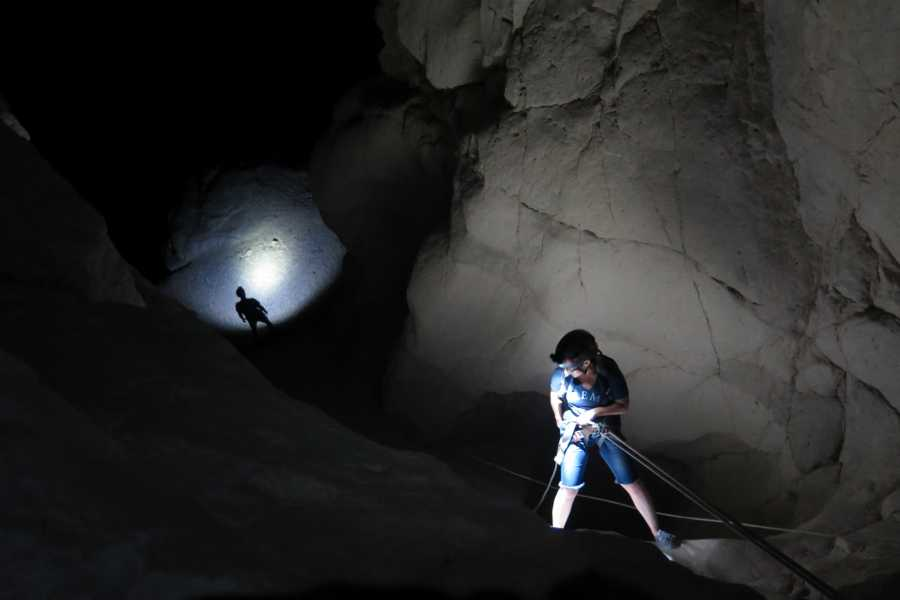 Wild-Trails Extrem Canyoning bei Vollmond in Israel