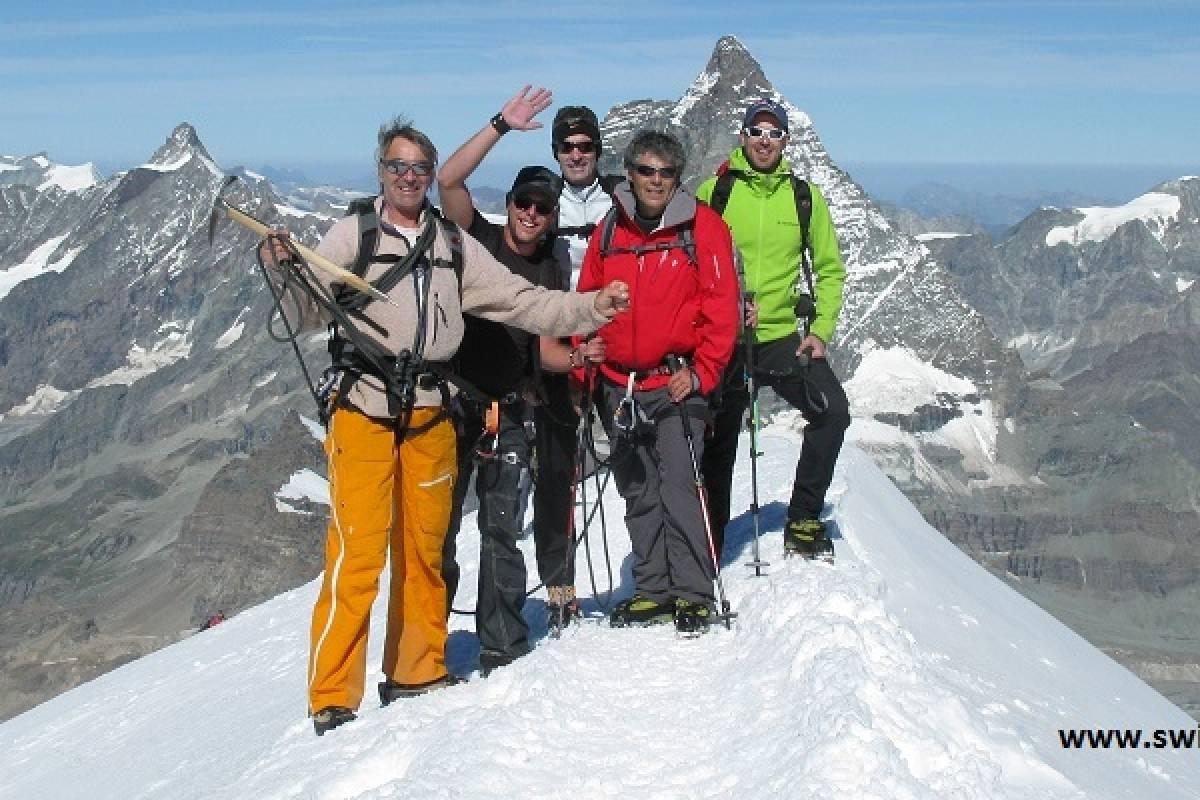 Swiss Alpine Guides Breithorn My First 13,661ft peak