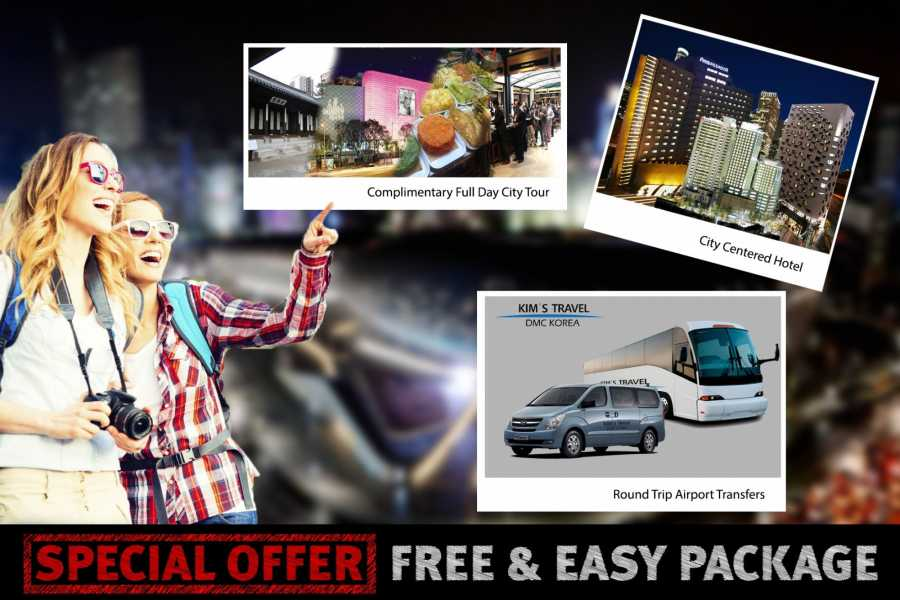 Kim's Travel Free & Easy Package (Valid until Aug 2019)