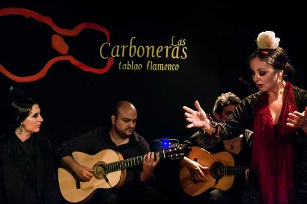 SANDEMANs NEW Madrid Tours Noche de Flamenco y Tapas
