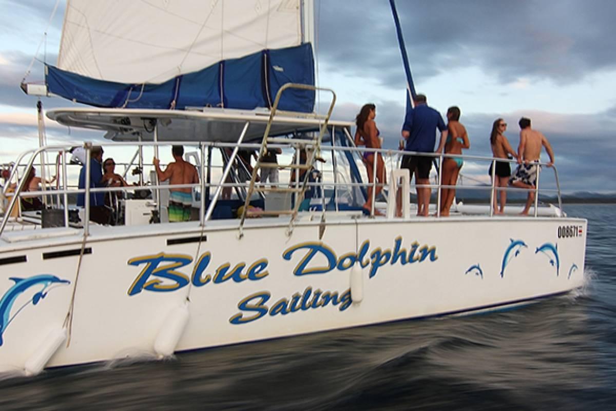 Kelly's Costa Rica Blue Dolphin Catamaran Sunset Cruise