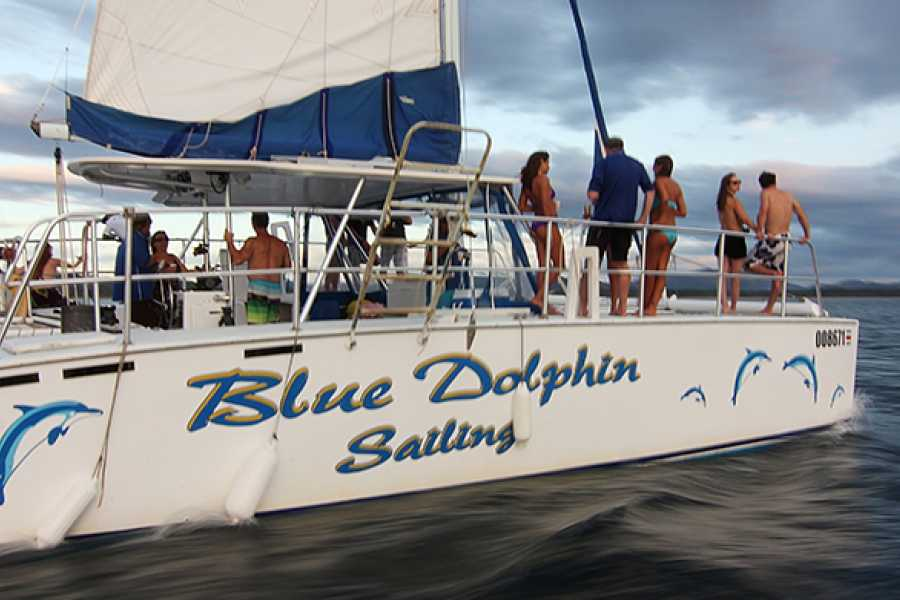 Kelly's Costa Rica Blue Dolphin Catamaran Sunset Cruise