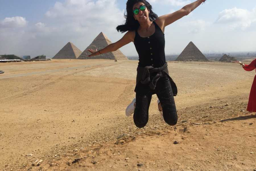 EMO TOURS EGYPT Cairo Layover excursion to Giza Pyramids Sphinx Coptic Cairo & Bazaar