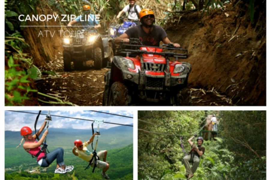 Kelly's Costa Rica Congo Trail ATV and Zip Combo