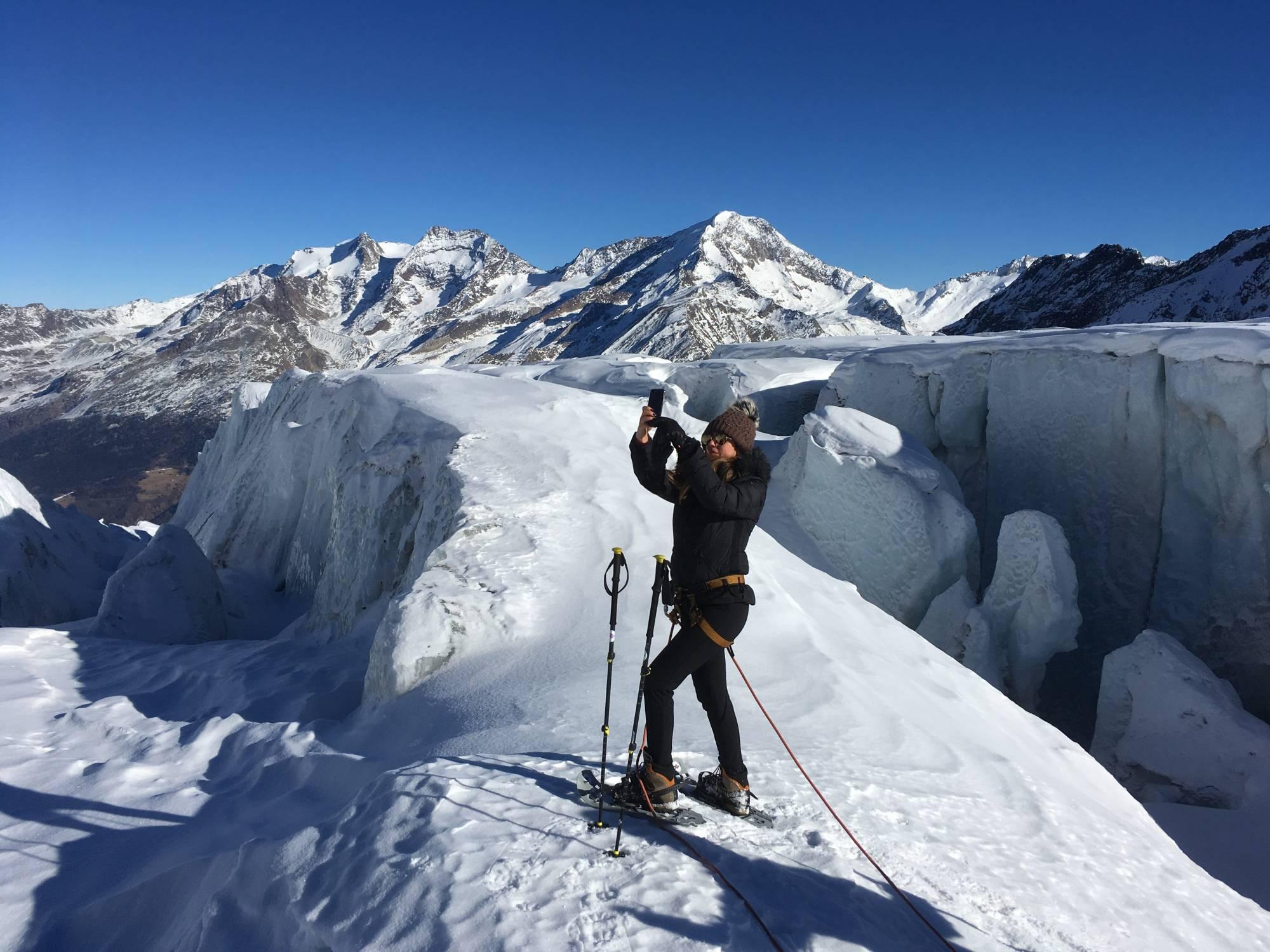 Klettergurt Für Gletscher : Gletscher erlebnis saas fee guides the mountain of