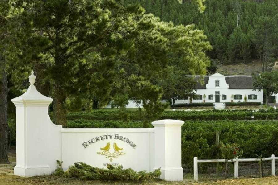 BOOKINGAFRICA.NET Franschoek - Rickety Bridge Wine Estate 3 nights