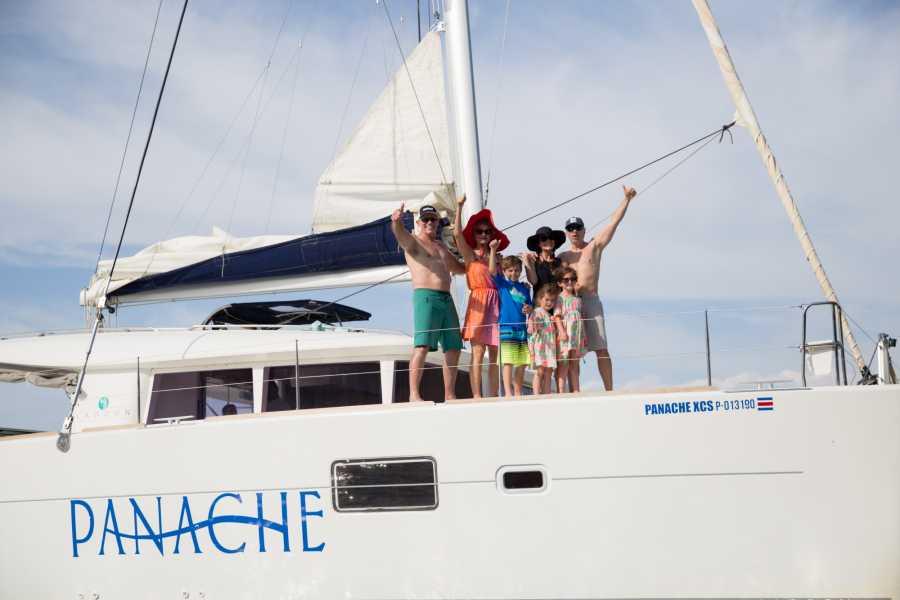 Panache Sailing Catamaran Private Charter, Flamingo Marina, Costa Rica