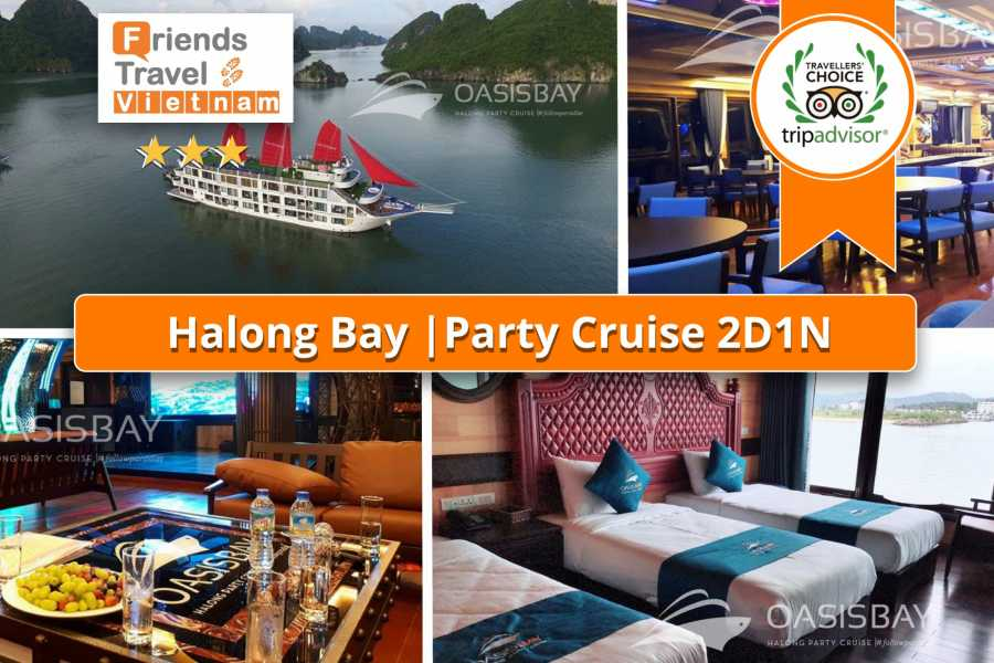 Friends Travel Vietnam Party Cruise | 2D1N Halong Bay