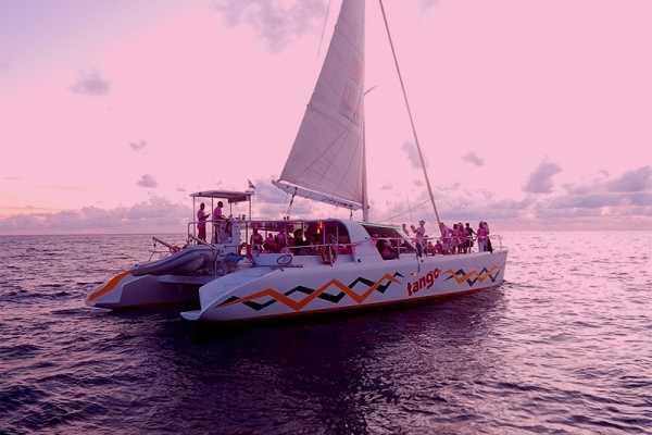 Aqua Mania Adventures PINK SUNSET SAIL