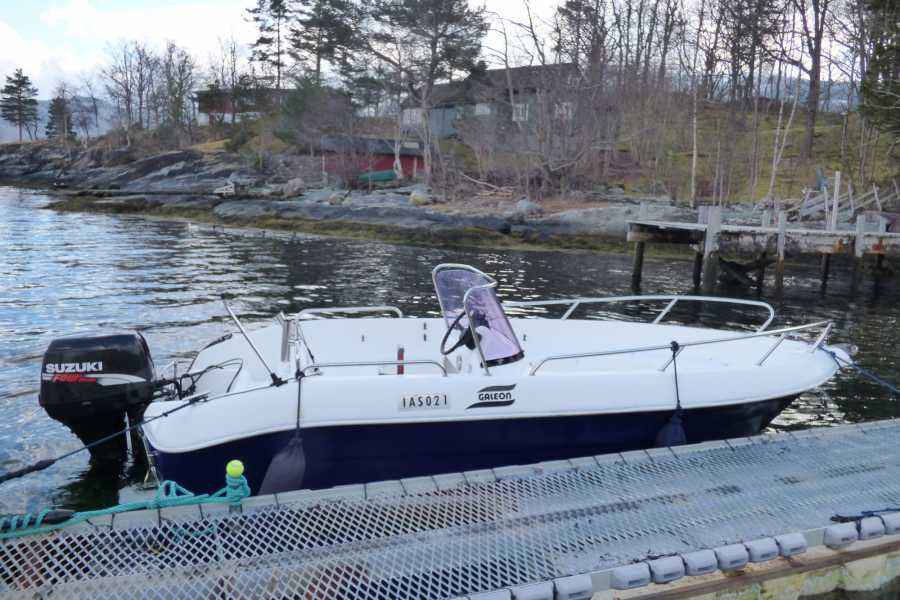 Hardanger Feriesenter AS Bootverhuur - 50 ps vissersboot