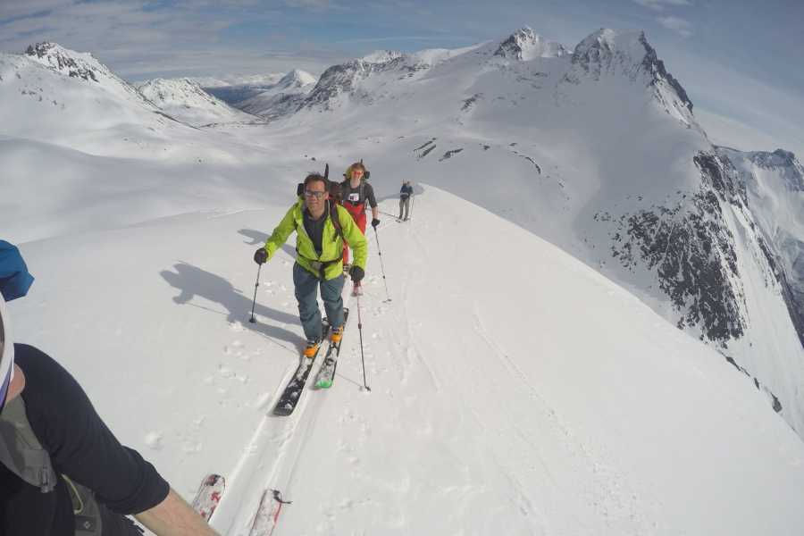Uteguiden AS Ski touring weekend - Stranda