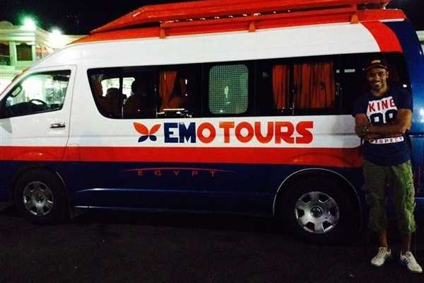 EMO TOURS EGYPT TRANSFERT PRIVÉ DE LOUXOR À HURGHADA EN BUS