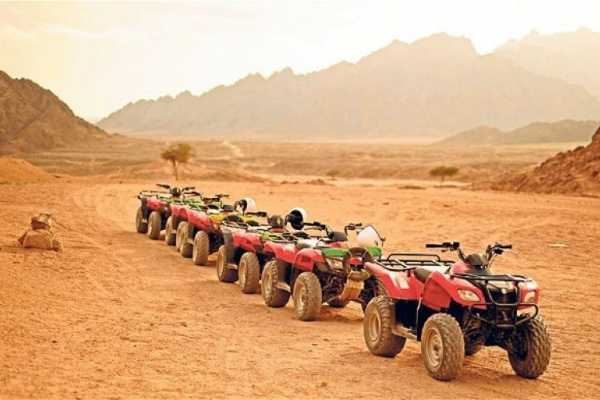 EMO TOURS EGYPT BUDGET DESERT SAFARI TRIP DURCH QUAD IN HURGHADA