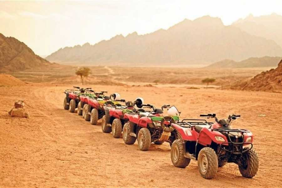 EMO TOURS EGYPT BUDGET DESERT SAFARI TRIP BY QUAD BIKE IN HURGHADA